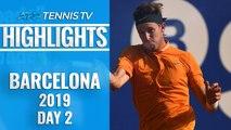 Jarry Upsets Zverev; Thiem, Tsitsipas Safely Through   Barcelona Open 2019 Highlights Day 2