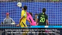 FOOTBALL: FIFA Women's World Cup: Fast Match Report - Jamaica 1-4 Australia