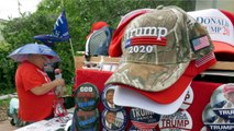 Donald Trump Continues To Gather Large Crowds Of Supporters
