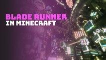 Blade Runner in Minecraft
