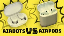 How do Xiaomi's AirDots compare to the AirPods?