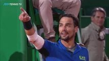 INCREDIBLE Tennis from Fabio Fognini vs Coric  | Monte-Carlo 2019