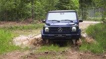 Mercedes-Benz G 350 - Forest Ride demonstration