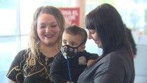 El Hospital Vall D'Hebron trata al primer niño burbuja