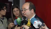 """Iceta matiza: """"A Cataluña no le conviene la independencia y un referéndum no es la solución"""""""