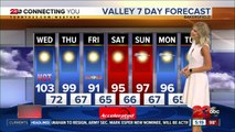 Triple digit heat continues on Wednesday