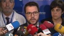 Aragonès exige a Sánchez el fin de la línea represiva
