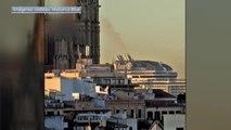 Expertos piden medidas para reducir la contaminación de las emisiones de gases de los barcos en el Mediterráneo