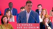 Sánchez asegura que no habrá independencia de Cataluña bajo el PSOE