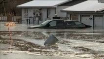 Graves inundaciones en las llanuras centrales de Estados Unidos