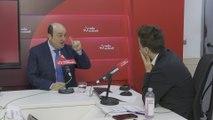 Ortuzar en una entrevista en Radio Euskadi