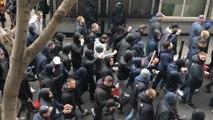 Los ultras del Olympique de Lyon llegan a Barcelona