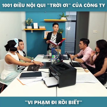 Clip hài: 1001 điều nội quy TRỜI ƠI của công ty - YAN News