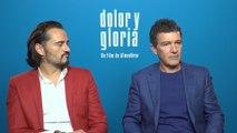Banderas asegura que no imita a Almodóvar en 'Dolor y Gloria'