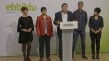 EH Bildu justifica su ausencia al acto del 11M de San Sebastián