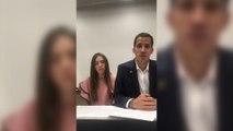 Guaidó llama a los venezolanos a movilizarse si le detienen