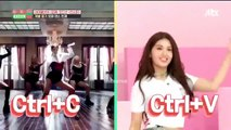 190619 Somi dancing to 'KILL THIS LOVE' & 'SOLO' on Idol Room!