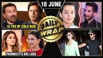 Deepika REPLACES Parineeti, Shahid INSULTS Kangana, SRK Sunny Deol Fight | Top 10 News