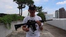 Airsoft M4 RIS GBB射击精度与威力测试