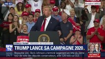 Donald Trump lance officiellement sa campagne pour la présidentielle de 2020