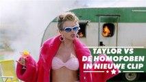 De nieuwe videoclip van Taylor Swift pakt homofobie aan in nieuwe videoclip