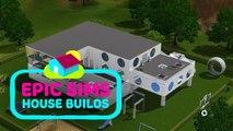 Les Sims : une vidéo accélérée de la construction d'une maison futuriste