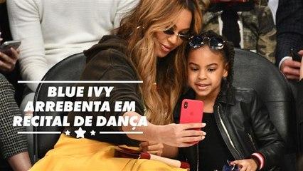 Blue Ivy é a próxima Beyoncé