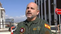 Los pilotos de la Guardia Civil cuentan cómo fueron los rescates al límite de Málaga