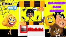 EMOJI MOVIE Halloween Claw Machine Game TOY SURPRISES Jail Break Rescue
