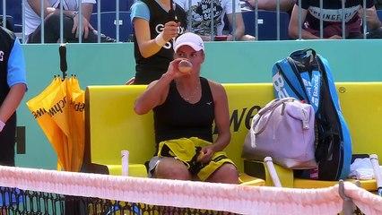 20190506 WTA Madrid R2 Yulia Putintseva 2-1 Pauline Parmentier - Last 4 Break Games