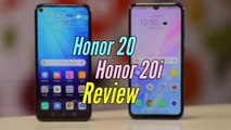 Honor 20 and Honor 20i Review