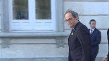 Quim Torra acude al juicio del procés en el Tribunal Supremo