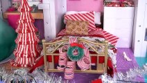 Barbie Rapunzel & Elsa Christmas Dreamhouse  Party - Opening Gifts & Decorating