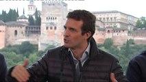 Casado exige a Sánchez que explique a qué compromisos llegó Iglesias con Junqueras