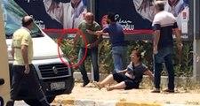 İstanbul'un göbeğinde eski karısını dövüp bıçakladı! Mahalledeki genç, yaralı kadını kurtardı