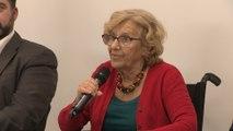 Carmena lamenta que el Gobierno no haya podido concluir la legislatura