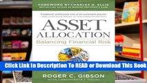 Full E-book  Asset Allocation: Balancing Financial Risk, Fifth Edition: Balancing Financial Risk,