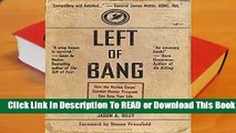 About For Books  Left of Bang: How the Marine Corps' Combat Hunter Program Can Save Your Life