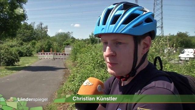 Hammer der Woche – Teurer Radweg endet vor Bahngleis