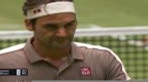 Halle - Federer se sort du piège Millman