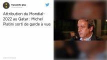 Attribution du Mondial 2022 au Qatar. Michel Platini est sorti de garde à vue, sans poursuites