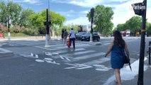 Touristes et passage piétons à Paris: « J'ai failli me faire renverser deux fois ! »