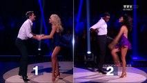L'épreuve du face à face pour Brian Joubert et Corneille, un défi Jive sur « Sake It Off » (Taylor Swift)