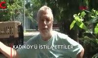 Kadıköy'de tırtıl istilası
