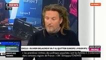 """EXCLU - Olivier Delacroix: """"Non, je n'ai pas été contacté par RTL, mais j'aurais peut-être deux émissions en septembre sur Europe 1 !"""" - VIDEO"""