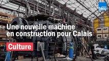 """Le Dragon des mers de Calais prend vie dans les ateliers de la compagnie """"La Machine"""" à Nantes"""