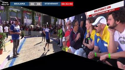 Mondial à pétanque Montpellier 3M Midi Libre 2019 : Huitième STIEVENART vs BEULAMA
