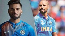 World Cup 2019: Shikhar Dhawan out of WC, Rishabh Pant named replacement | वनइंडिया हिंदी