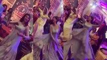 Sushmita Sen's crazy dance in brother Rajeev Sen's wedding with Charu Asopa; Watch video   FilmiBeat