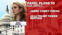Hope Hicks to testify in front of Congress despite White House attempts to block it